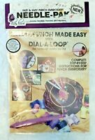 Vintage Pretty Punch Needle-Pak Needle Punch Dial-A-Loop Embroidery Kit New