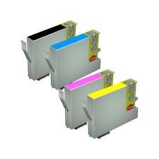 4 TINTAS NON OEM PARA EPSON STYLUS DX4850 T0611 T0612 T0613 T0614 611 18ML