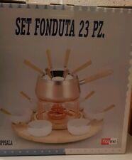 Set per fonduta bourguignonne - ForMe - da 6 persone, finitura in rame