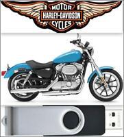 2011 Harley Davidson Sportster Service Repair Manual On USB Drive