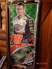 "2002 Bobby Labonte Interstate Batteries Plastic Poster Banner 58"" x 26"" Grommets"