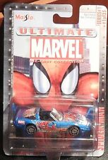 ULTIMATE MARVEL Spiderman Mosc New MAISTO diecast Corvette ZR1