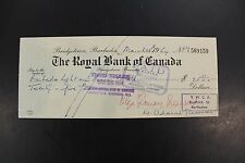 1964 The Royal Bank of Canada check
