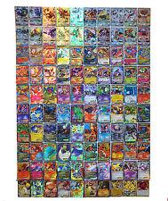 Pokemon TCG : 100 FLASH CARD 20 MEGA + 20 GX + 60 EX CARDS NO REPEAT New Style