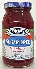 Smucker's Strawberry Sugar Free Preserves 12.75 oz Smuckers