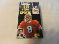 1995 The Year In Sports VHS Tape from Sports Illustrated