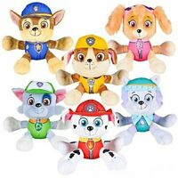 """Paw Patrol 6"""" Plush Toy Set of 6  Marshall, Skye, Rocky,Everest Rubble and Chase"""