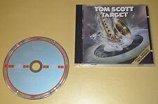 Tom Scott - Target / Atlantic 1983 / W. Germany 1st. Press Target CD / Rar