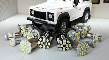 Land Rover Defender TD5 White LED External Light Bulb Set/Kit (No Headlights)