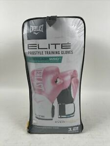 EVERLAST Pro Style Elite 12oz Women's Training Boxing Gloves Pink Evershield