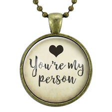 You're My Person Necklace, Gifts For Women, BFF Best Friend Jewelry