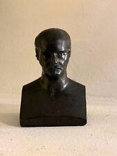 BUSTE EN BRONZE MASSIF ALLAN KARDEC XIXeme siècle spiritisme statue esoterisme