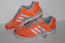 Adidas Climacool Aerate 3 Running Shoes, #G98527, Glo Org/Gry/Wht, Women's US 8