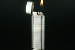 Cartier Lighter Silver plated Working Vintage  #C70