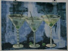 Sonoma Martini Cocktail Placemat 13X18 Set of 4