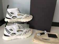 Valentino NEW Rock Stud Sneakers Trainers Size 40 Uk 6 Unisex RRP £685 White