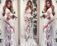 Spitze Clubwear Partykleid Party Kleid Nachthemd Negligee Nachtwäsche weiß BC427