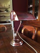 Antique - Vintage Desk / Library Brass Lamp