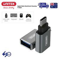 Unitek USB3.1 USB Type-C Male to USB-A Female Adaptor Y-A025CGY