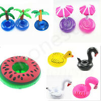 1pc Fruit Donut Swimming Pool Inflatable Holder Summer Party Decor Kids Toy Gift
