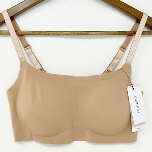 Calvin Klein Invisibles Comfort Lightly Lined Retro Bralette Women's Size Medium