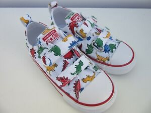 Converse Dinoverse Dinosaur Kids Toddler Boys Girls Shoes Infant Size 10