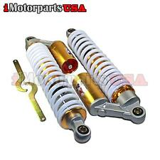 NITRO GAS AIR FRONT SHOCK ABSORBERS SET FOR SUZUKI LT250R QUADRACER 250 ATV
