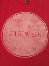 Golden Sun - Band/Concert Rare Red T-Shirt Mens' Size Small S Excellent Conditio