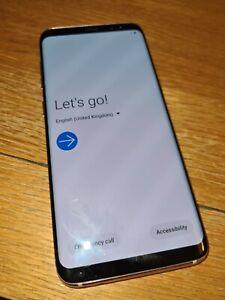 Samsung S8 Rose Gold 64gb