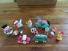 Hallmark Merry Miniatures Christmas Lot of 11 * 1985 - 1989 * Never Displayed