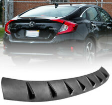 Shark Fin Roof Spoiler Wing Lip Visor JDM For 2016-2018 Honda Civic 4-Door 10TH