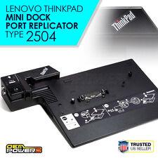 IBM Lenovo Advanced Mini Dock Docking Station W500 R500 Z60m Z60t Z61m Z61t