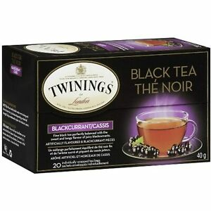Twinings Blackcurrant Breeze Flavored Tea