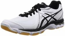 ASICS Volleyball Shoes GEL-NETBURNER BALLISTIC LO TVR479 White Black US14(31cm)