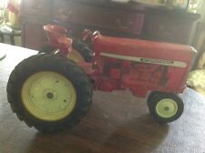 """Vintage 8.5"""" Metal Toy International Tractor; Great Condition"""