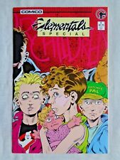 Elementals Special No. 1 March 1986 Comico The Comic Company 1st Print NM (9.4)