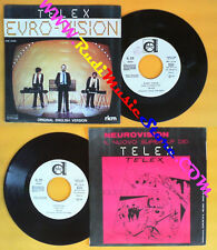 LP 45 7'' TELEX Euro-vision Troppical 1980 italy DURIUM PROMO 3126 no cd mc dvd*