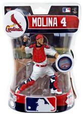 """Yadier Molina St. Louis Cardinals Imports Dragon MLB Baseball Action Figure 6"""""""