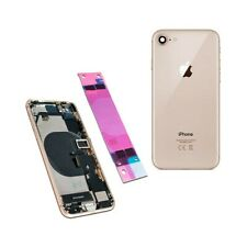 Back Cover Shell Rear Case Frame Chassis For Iphone 8 Gold 100% Quality'