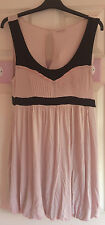 Stunning Miss Selfridge pink & black bubble dress size 14