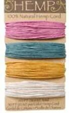 Spring Colors 100% Natural  20lb Hemp Cord Set 120ft