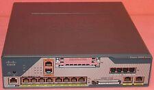 Cisco C1861-UC-2BRI-K9 C1861-2B-VSEC/K9 1861 Voice Router FULLY TESTED 3xAvai