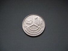 Belgium 1 Franc, 1991 Coin. Boudewijn I