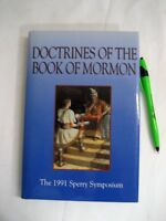 """Used LDS Book """"Doctrines of the Book of Mormon"""", HB, 1st Ed. 256p 1991 Sperry Sy"""