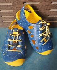 KEEN Baby Size 9 Rio Sandals Shoes Blue Speckled Toggle Laces Lightweigt EVA