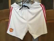 MANCHESTER UNITED ORIGINAL FOOTBALL SOCCER JERSEY SHORTS Climacool ADIDAS AC1420