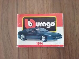 Bburago 1994 Katalog