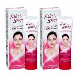 Fair & Lovely Multi Vitamin Moisturising Brightening Toning Face Cream - 25 gm
