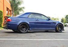 "19"" Avant Garde M359 Wheels Fits BMW E46 M3 Black Rims 19x9.0 +35 / 19x10.0 +25"