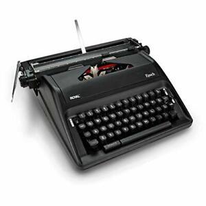 Royal 79100G Epoch Manual Typewriter Blk